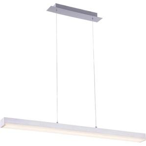 TRIO Leuchten LED Pendelleuchte »LIVARO«, Hängeleuchte, Mit WiZ-Technologie für eine moderne Smart Home Lösung, dimmbar, Farbwechsel