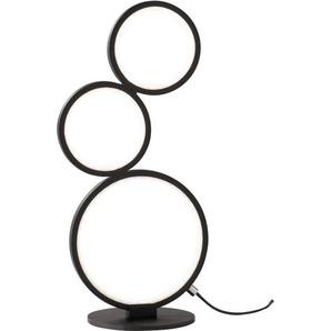 TRIO Leuchten LED Tischleuchte »Rondo«, Schnurschalter,integrierter Dimmer