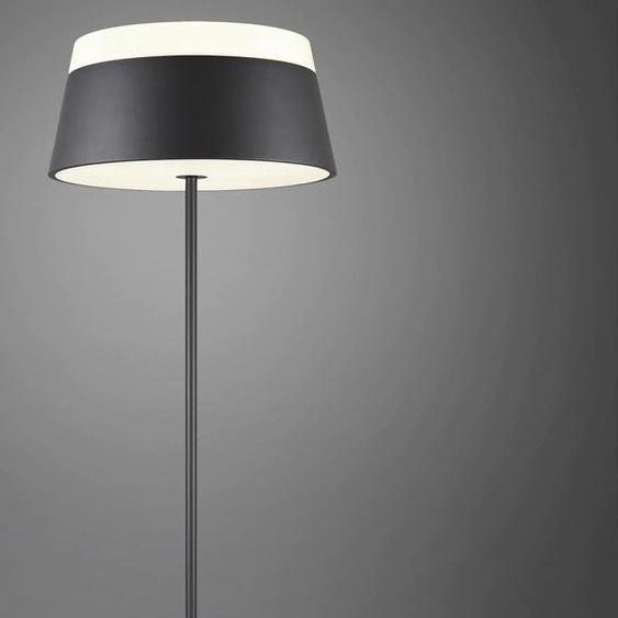 TRIO Leuchten Stehlampe Baroness, E27 3 flg., Ø 45 cm Höhe: 150 schwarz Standleuchten Stehleuchten Lampen