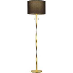 Trio Stehlampe ,Gold ,Metall