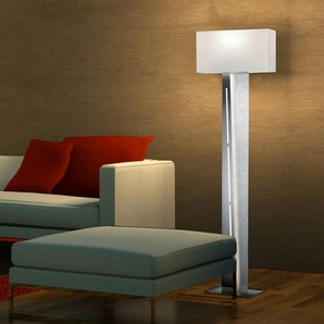 Trio Stehlampe, Silber, Metall