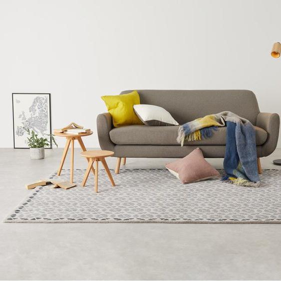 Trio Teppich (200 x 300 cm), Grau