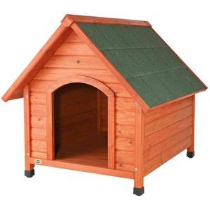 Trixie 39532 natura Hundehütte Cottage mit Satteldach, M–L: 83 × 87 × 101 cm, natur