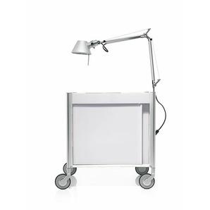 Trolley Ally weiß, Designer Designstudio speziell®, 49.5x46x34 cm