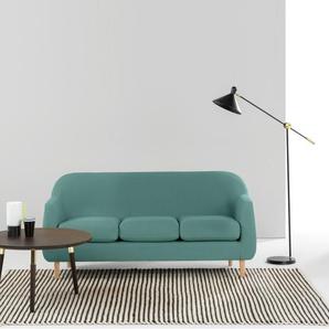 Tubby 3-Sitzer Sofa, Blaugruen