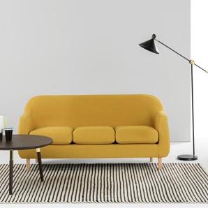 Tubby 3-Sitzer Sofa, Retrogelb