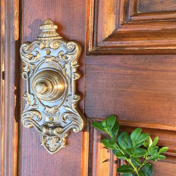 Türklingel für Gründerzeit oder Jugendstil Haus - wie antike Klingel Historismus