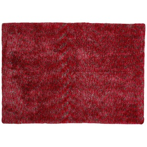 Tuft-Teppich  Wellness ¦ rosa/pink ¦ 100 % Polyester, Synthethische Fasern ¦ Maße (cm): B: 70