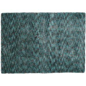 Tuft-Teppich  Wellness ¦ türkis/petrol ¦ 100 % Polyester ¦ Maße (cm): B: 140 Teppiche  Auslegware » Höffner