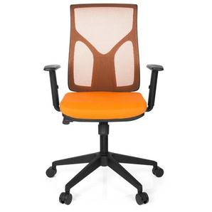 TURAN - Home Office Bürostuhl Orange