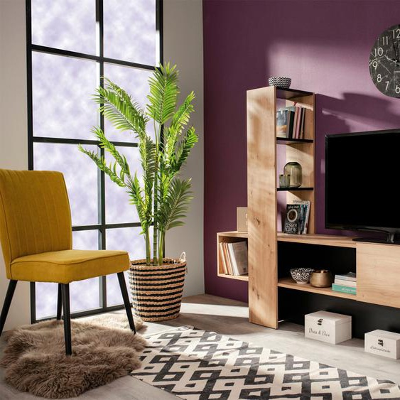 TV-Board , Breite ca. 185,5 cm, TV-Größe 50 »Orense«, 185.5x138.5x36.5 cm (BxHxT), FSC®-zertifiziert, , beige, Material Holzwerkstoff