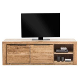 TV-Lowboard, Eiche, Holz