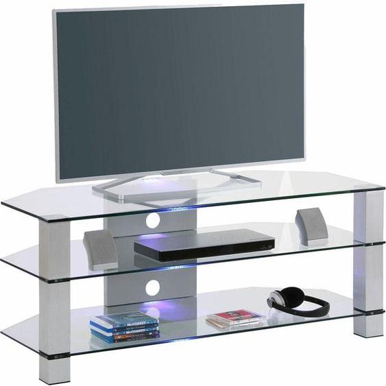TV-Rack »1653«, MAJA Möbel, Material ESG-Sicherheitsglas, Metallgestell, Aluminium