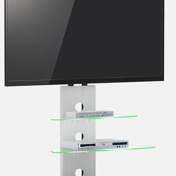 TV-Rack »CU MR 50 LCD CU MR 50 LCD«, Jahnke, Material Aluminium, Metall, ESG-Sicherheitsglas
