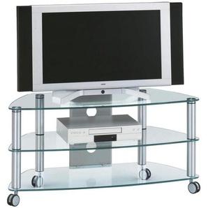 : TV-Rack, Alu, B/H/T 95 53 52