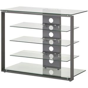 TV-Rack | transparent/klar | 79 cm | 66 cm | 40 cm | Möbel Kraft