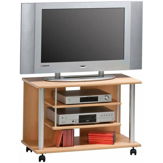 TV-Rack »TV-Rack 1898«, MAJA Möbel, beige, Material Melaminharzbeschichtung, Holzwerkstoff, Kunststoff, MDF