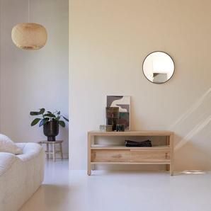 TV Schrank TV Unterschrank Board aus Teak 100 cm natürliches Teakholz
