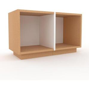 TV-Schrank Buche, Holz - Moderner Fernsehschrank: Hochwertige Qualität, einzigartiges Design - 79 x 47 x 35 cm, konfigurierbar