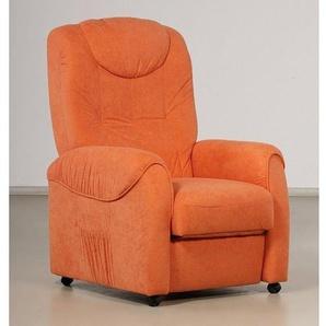 TV-Sessel, FSC®-zertifiziert, orange, , manuell verstellbar