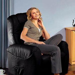 sit&more TV-Sessel, FSC®-zertifiziert, schwarz