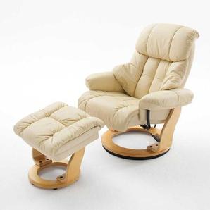 TV Sessel aus Kunstleder (100% Polyurethan) Wohnzimmer (2-teilig)