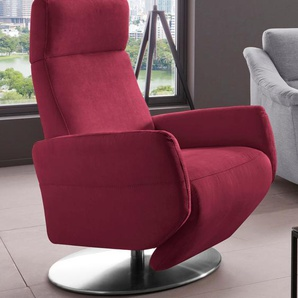 TV-Sessel , dunkelrot, »Kobra«, FSC®-zertifiziert, Places of Style