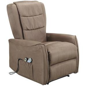 TV-Sessel | beige | 82 cm | 107 cm | 88 cm |