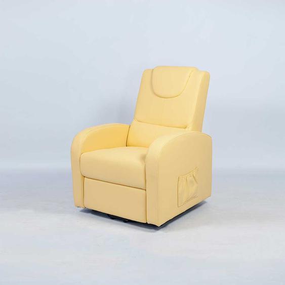 TV Sessel in Gelb Aufstehfunktion