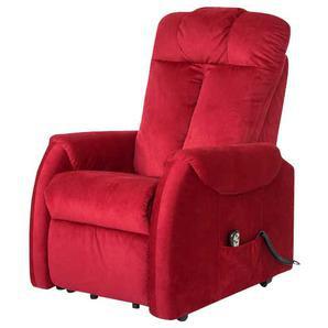 TV Sessel in Rot Motor und Aufstehhilfe