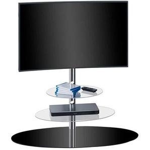 TV-Ständer aus Sicherheitsglas Metall