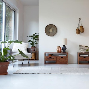 TV-Unterschrank TV-Schrank TV-Tisch Palisander massives Holz Neu