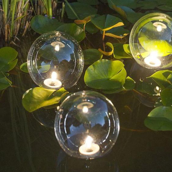 Ubbink 3er Teichkugel Multibright Float 3 LED