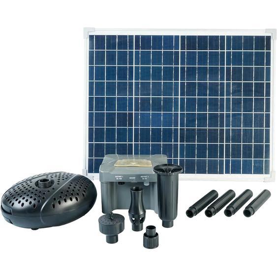 Ubbink Solar Springbrunnenpumpe SolarMax 2500 accu ABS Schwarz 62 x 45,5 x 23 cm