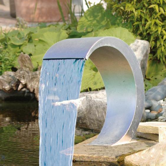 Ubbink Wasserfall Mamba Einheitsgröße silberfarben Deko, Figuren Skulpturen SOFORT LIEFERBARE Wohnaccessoires