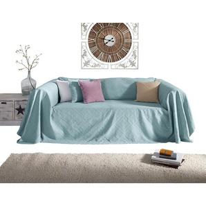 PEREIRA DA CUNHA Sofaüberwurf mit Hoch-/Tief-Struktur