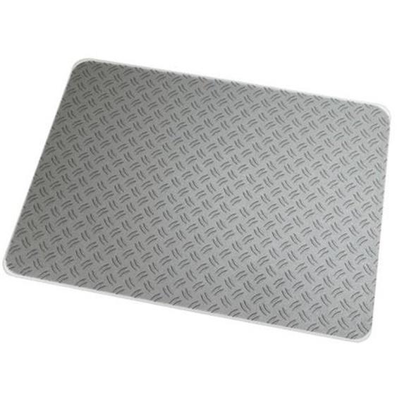 ULTIMAT 90x120 - Bodenschutzmatte rechteckig Motiv Riffelblech