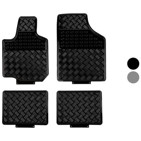 ULTIMATE SPEED® Fußmattensatz, fürs Auto, 4-teilig