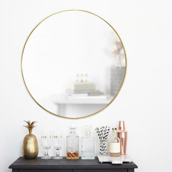 Umbra-Wandspiegel »Hubba Runder« - gold -
