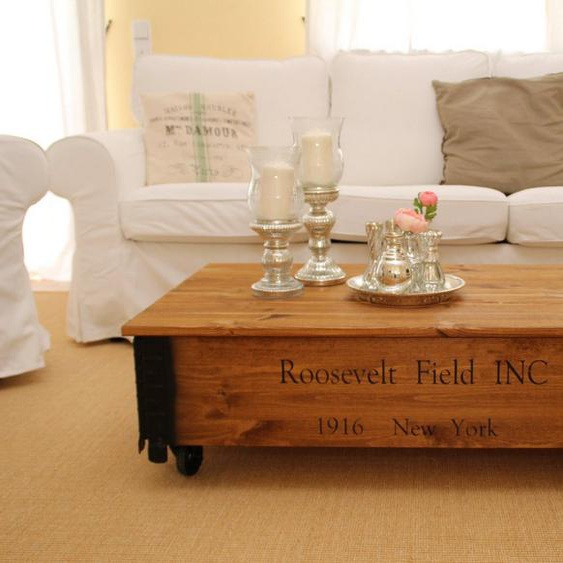 Uncle Joe´s Couchtisch »Rooseveld Field«, in rustikalem Design