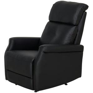 Fernsehsessel schwarz - Kunstleder Solea ¦ schwarz ¦ Maße (cm): B: 82 H: 104 T: 74 Polstermöbel  Sessel  Fernsehsessel » Höffner
