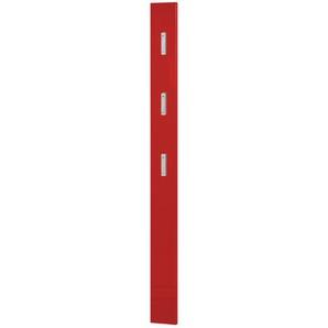 uno Garderobenpaneel  Rainbow | rot | 15 cm | 170 cm | 2 cm |