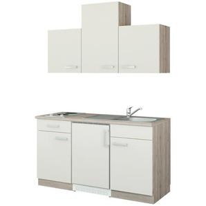 uno Küchenzeile mit Elektrogeräten  Jena ¦ beige ¦ Maße (cm): B: 150
