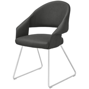 uno Kufenstuhl  Lena ¦ Maße (cm): B: 61 H: 83 T: 62 Stühle  Esszimmerstühle  Esszimmerstühle mit Armlehnen » Höffner