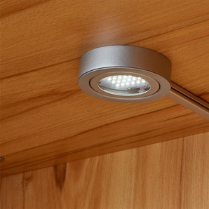 uno 2er LED-Beleuchtung  Lasal ¦ silber