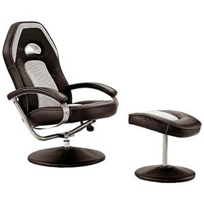 Relaxsessel - schwarz - 70 cm - 105 cm - 81 cm   Möbel Kraft