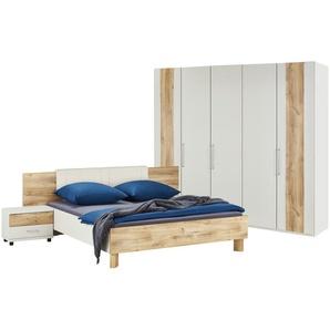 uno Schlafzimmer, 4-teilig  Denver ¦ holzfarben ¦ Maße (cm): B: 250 H: 216 T: 58