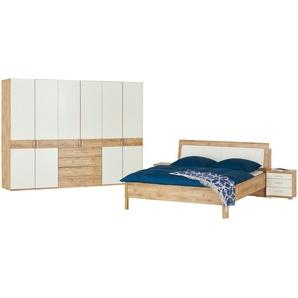 uno Schlafzimmer 4-teilig Keva ¦ holzfarben ¦ Maße (cm): B: 300 H: 216 T: 58