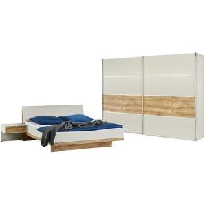 uno Schlafzimmer 4 teilig Samma ¦ holzfarben ¦ Maße (cm): B: 250 H: 216 T: 67