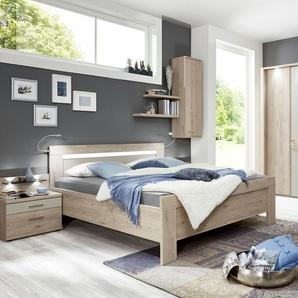 uno Schlafzimmer  Donna 2 ¦ holzfarben